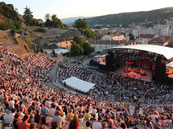 Vienne jazzfestival elke zomer