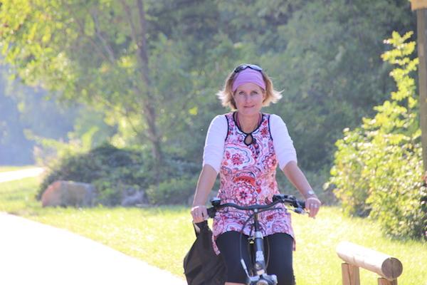 Dorpen en steden langs de fietsroute van de ViaRhona