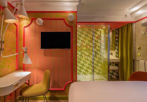 Lady Soul kamer in Idol Hotel Paris