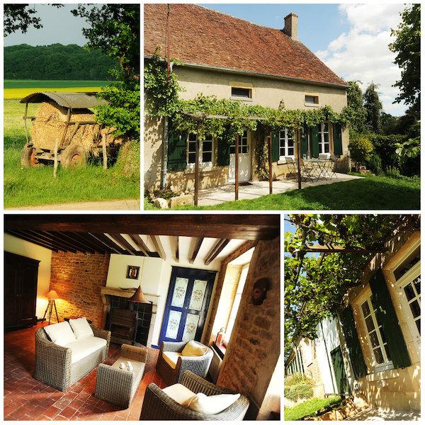 vakantieboerderij in de Bourgogne