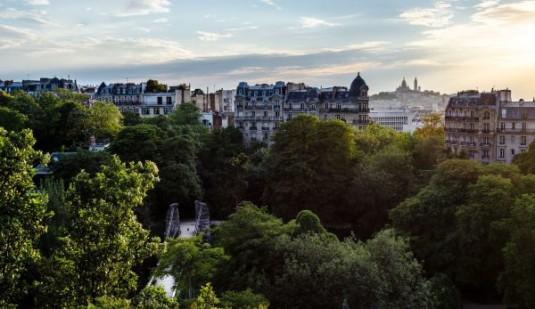 top 10 mooiste uitzichten parijs parc des buttes-chaumont