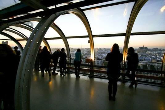 top 10 mooiste uitzichten parijs pompidou