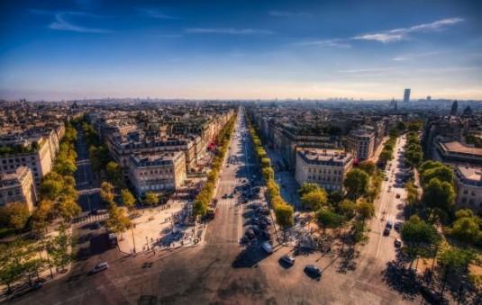 top 10 mooiste uitzichten parijs arc de triomphe