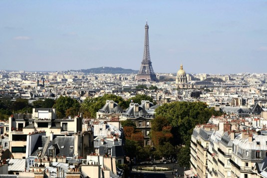 top 10 mooiste uitzichten parijs Eiffeltoren
