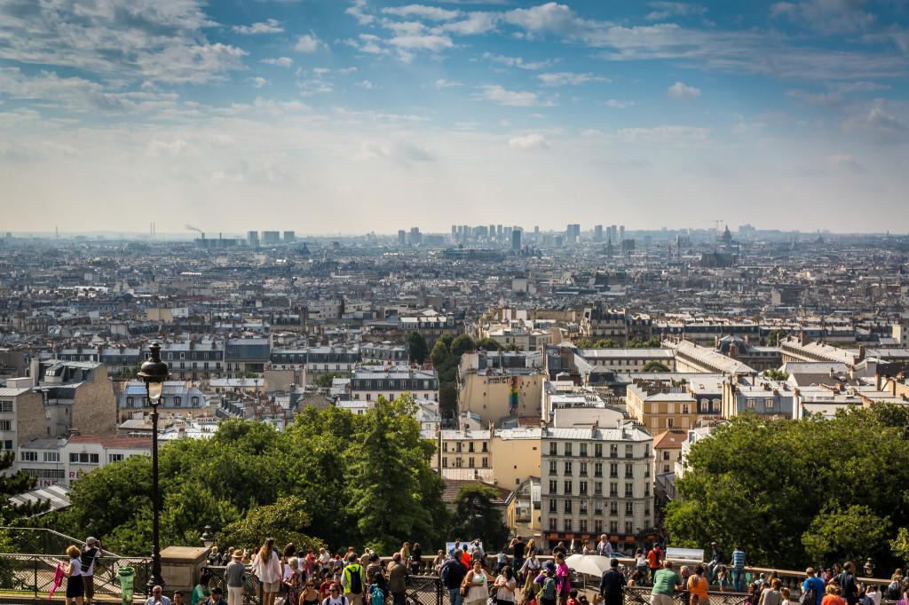 top 10 mooiste uitzichten parijs Montmartre