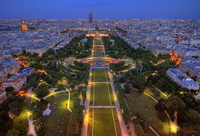 Top 10 mooiste uitzichten van parijs - Aperitief plateau huis van de wereld ...