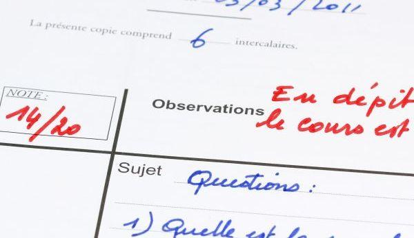 Franse cultuurverschillen cijfers op school tot 20