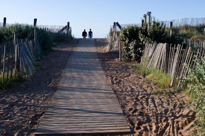 Strand van Serignan Plage