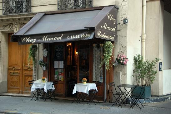 Restaurant chez Marcel in Parijs