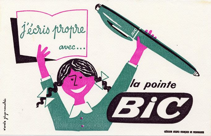 Bic balpen Franse uitvinding