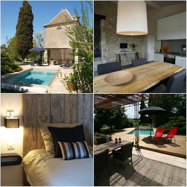 Duiventoren van Villa Lafage-bijzonder vakantiehuis in Frankrijk