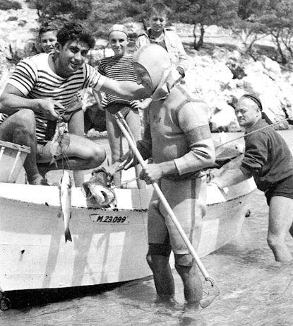 Beuchat duikpak Franse uitvinding