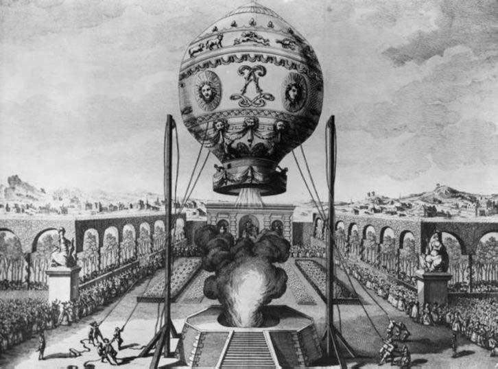 heteluchtballon franse uitvindingen