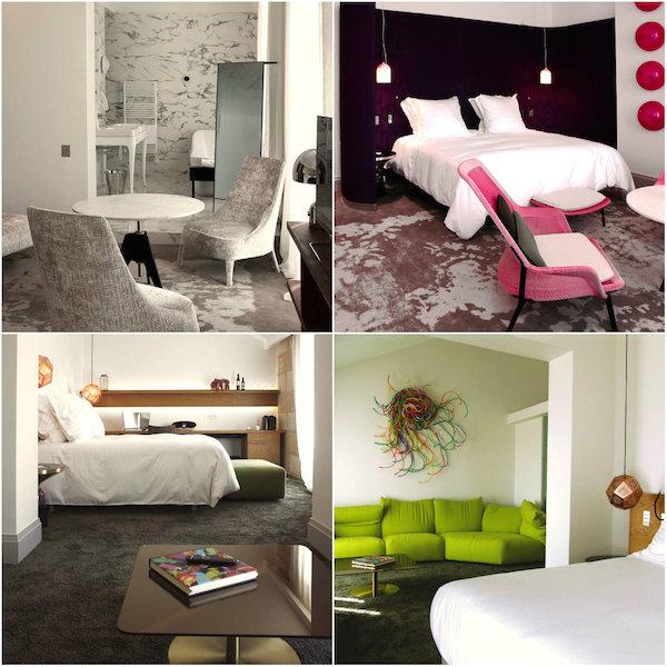 Hippe kamers Yndo Hotel Bordeaux