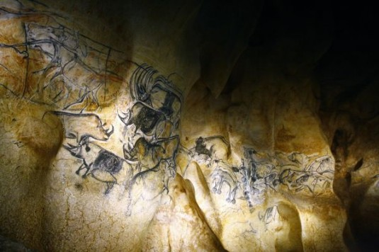 La-fresque-des-lions-de-la-Caverne-du-Pont-dArc