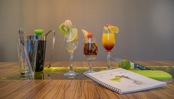 Honesty Bar cocktails in Legend Hotel Paris