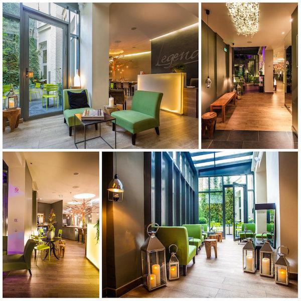 Receptie van Legend Hotel Paris