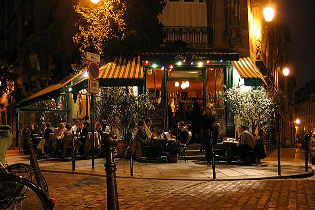 bistro's in Parijs leuke authentieke gezellige Chez Janou