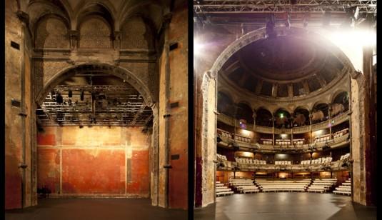 theater Bouffes du Nord in Parijs