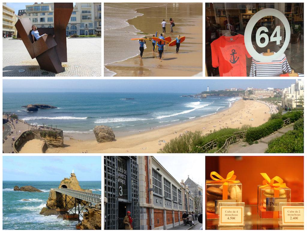 collage-Biarritz-Aquitaine