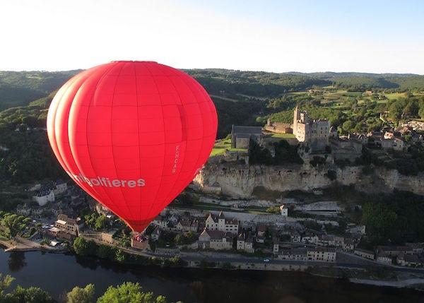 Ballonvaart in de Anjou