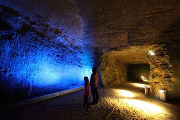 Mysterieuze ondergrondse wereld bij Les Perrières in Doué-la-Fontaine