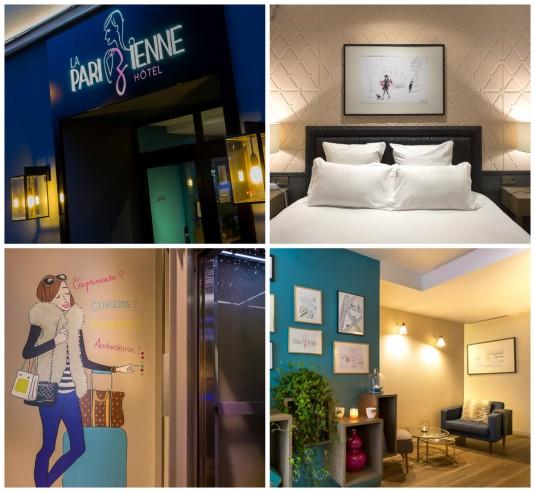 Hotel La Pariziennen bij Montparnasse in Parijs