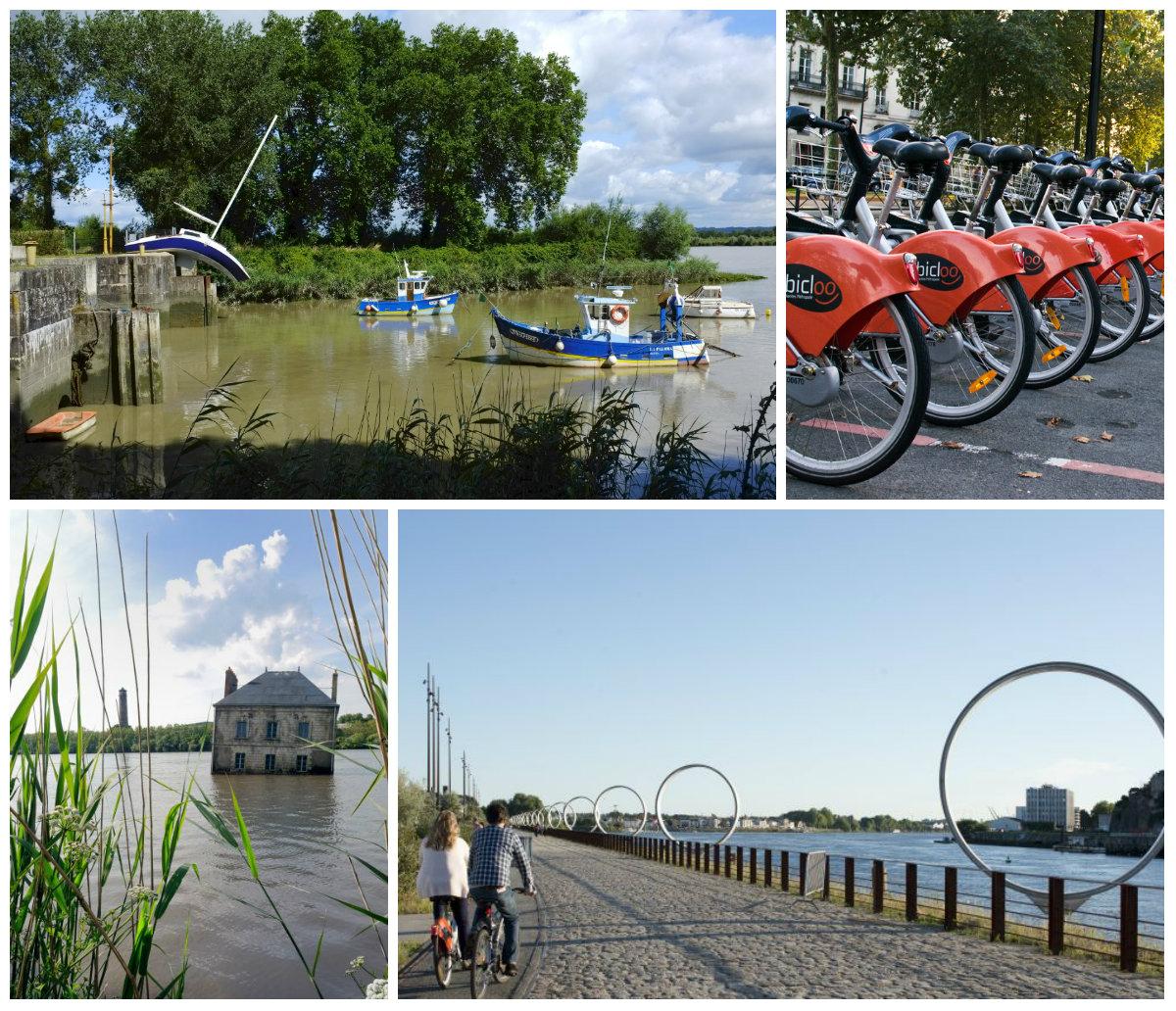 stedentrip Nantes bruisende creatieve stad fietsen langs de Loire