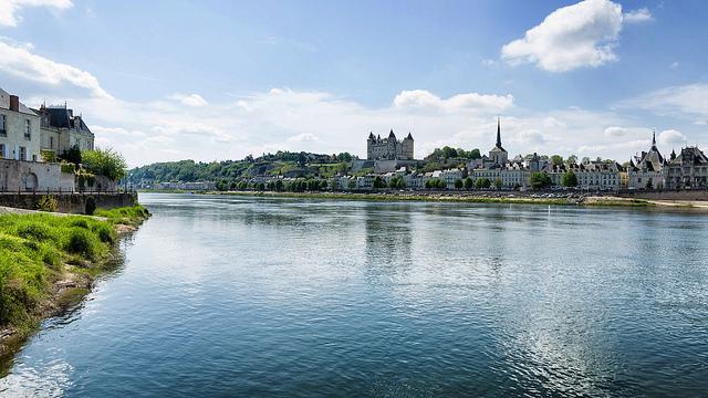 Saumur Loire Anjou mooie stad
