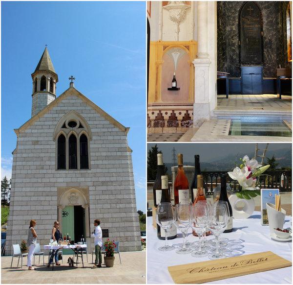 Wijngaarden in Nice - Chateau de Bellet