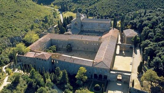 Abdij van Fontfroide Langiedoc-Roussillon