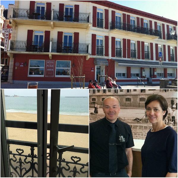 Hotel de la plage St Jean de Luz