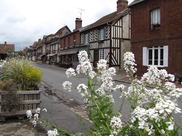 Normandische dorpje