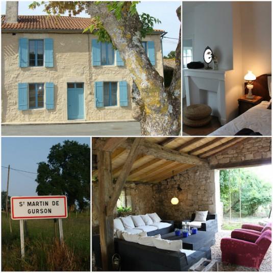 Vakantiehuis in het dorp Saint-Martin-de-Guerson