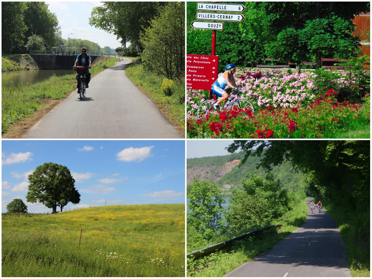 Voie verte fietspad in de Franse Ardennen