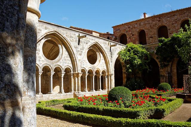 abbaye de fontfroide tuin cc Jean Baptiste ROUX
