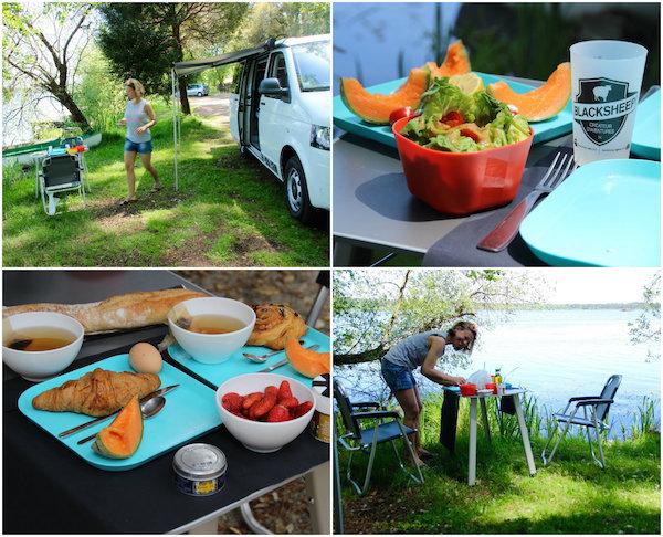 Uit eten met de campervan