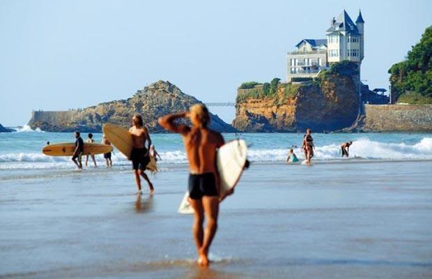 1 - Mooiste-Franse-stranden-Cote-des-Basques-Biarritz