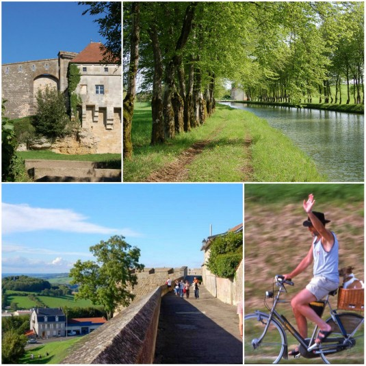 Langs het Canal Champagne-Bourgogne