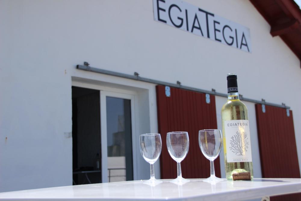 egiategia wijn St Jean de Luz