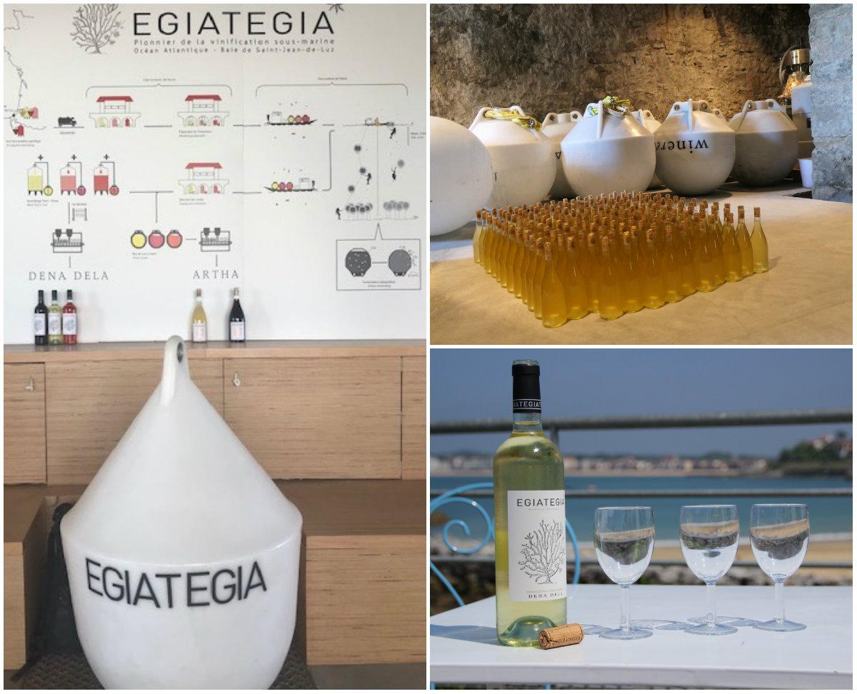 egiategia Wijn onder water