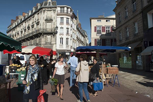 Markt in Limoges