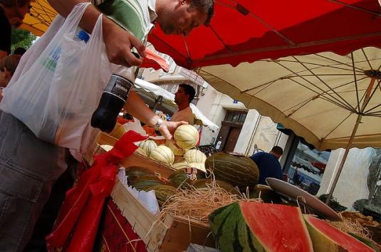 Meloenen uit Cavaillon