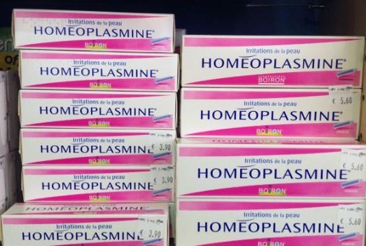 Homeoplastine uit de Franse apotheek