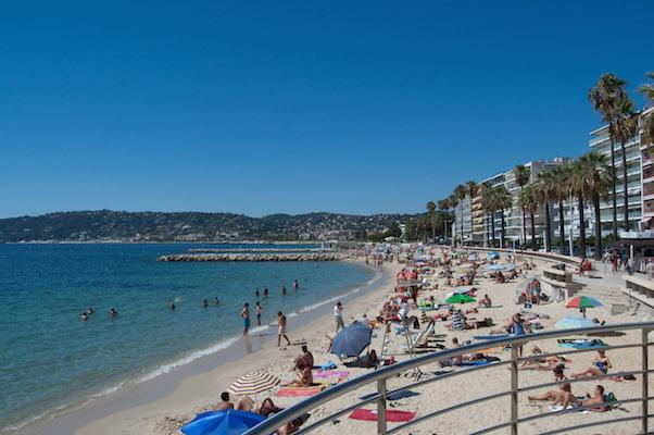 strand van Juan les Pins