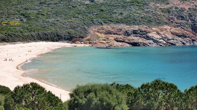 Plage Arone Corsica