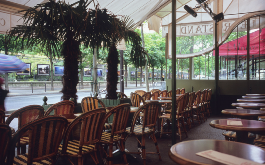 Cafe Rostand Saint-Germain Quartier Latin