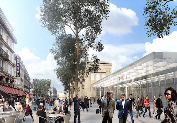 Toekomstige Gare du Nord