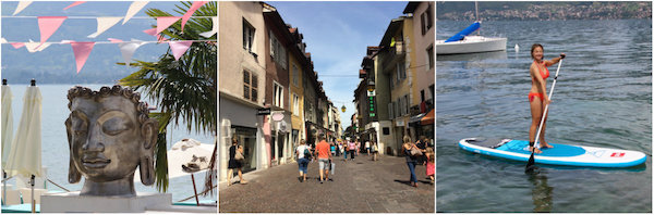 Chillen-shoppen-suppen in Annecy