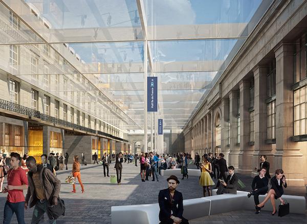 de nieuwe Gare du Nord